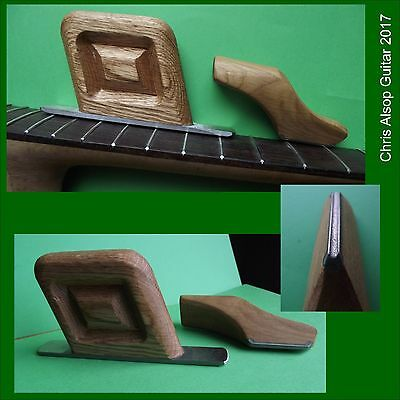 Guitar Fret Levelling and Fret Crowning Tools with Diamond Files. TF028