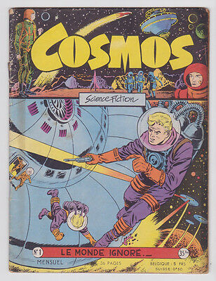 COSMOS n° 1 artima 1956 BE