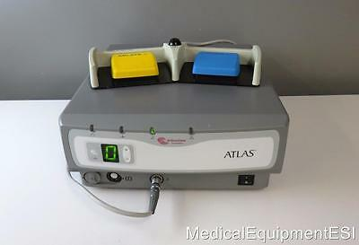 2004 Atlas Arthrocare Electrosurgical Controller Arthroscopy with Foot Pedal