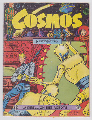 COSMOS n° 3 artima 1957 BE +