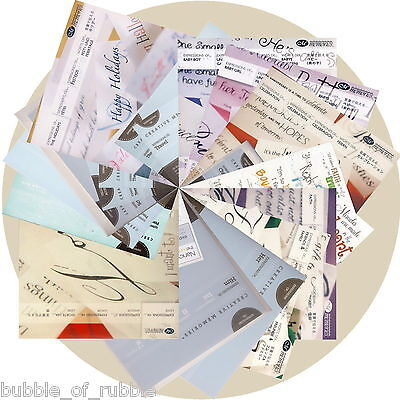 Creative Memories Vellum Paper Accents EXPRESSIONS OF ... 30/pk You Choose