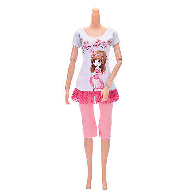 Beautiful DollSuit Handmade Party Clothes For Barbie Noble Doll Best Gift cy