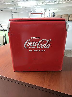 Retro Coca Cola cooler Acton MFG Co. Inc