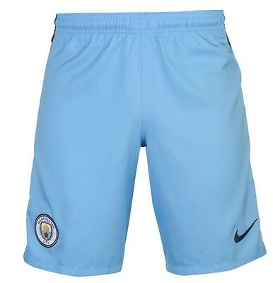 Nike Manchester City Home Home Shorts Blue 2016 2017 all sizes new