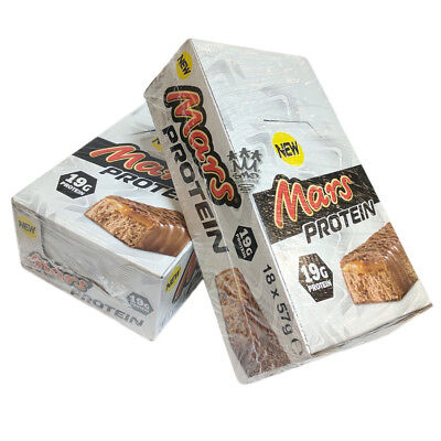 Mars Protein Bars Full Box - 18 High Protein Bar Snacks - 19g Protein In Each