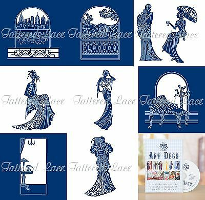Tattered Lace - Art Deco Classics Collection - Brand New 2017