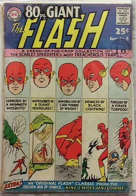 Flash 80 page Giant #4 (1964 DC) Silver age flash giant size. VG condition.
