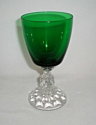 Fostoria American Lady Green Water Goblet A2100