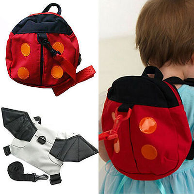 Baby Kid Toddler Keeper Walking Safety Harness Backpack Leash Strap Bag Fancy