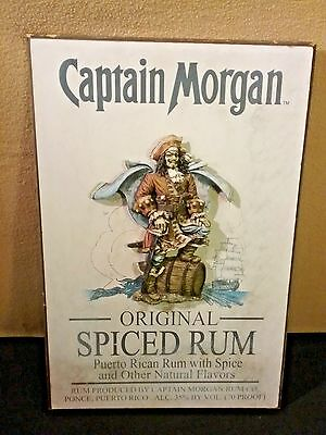"Captain Morgan 20"" x 13"" 3-D sign."