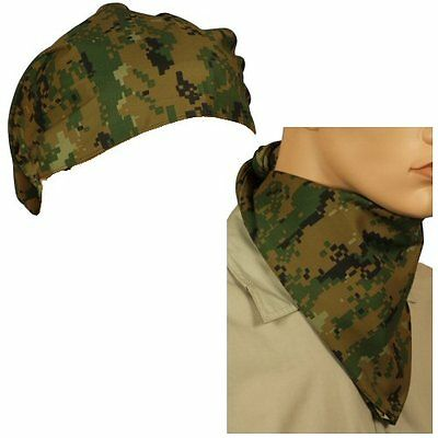 New Marpat Woodland Digital Triangular Bandana or Neckscarf de61ba5d47b1