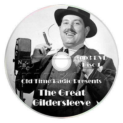 The Great Gildersleeve (OTR) 527 Episodes - Old Time Radio (2 x mp3 DVD)