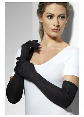 Black Elegant Gloves 1920's Flapper Gatsby Formal