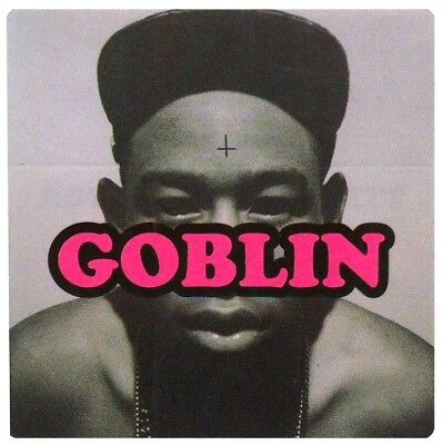 TYLER THE CREATOR Goblin Ltd Ed RARE Sticker! ODD FUTURE OFWGKTA Flower Boy Wolf