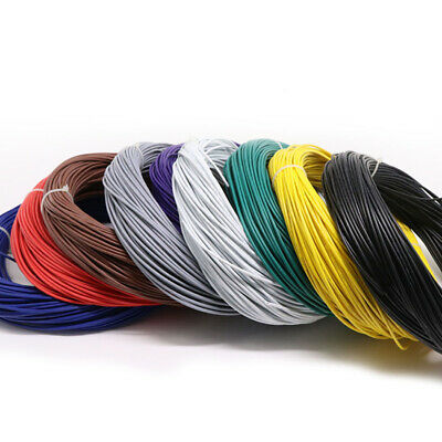 18AWG Cable Multi-Stranded Electrical Equipment Wire Hookup Cable Wire O.D 2mm