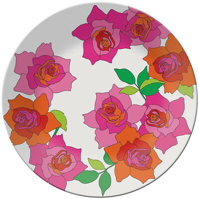 French Bull: Round Platter - Rose