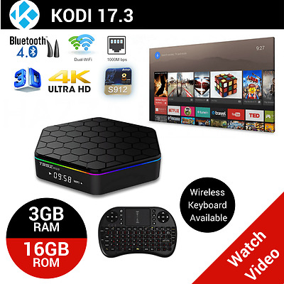 T95Z TV BOX Android 6.0 Octa Core 4K Smart Media Player Fully Loaded 3GB 16GB