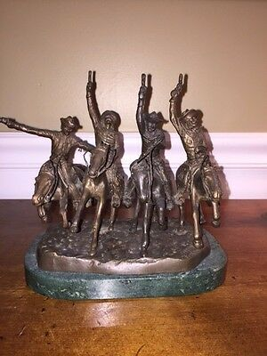 Bronze Statue:  Coming through the Rye  by Frederic Remington