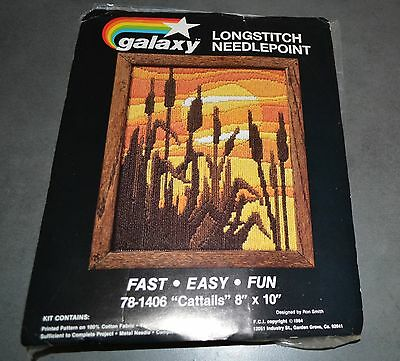 Vintage 1980's Tapestry Kit made in USA Galaxy brand