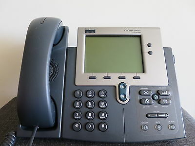 Cisco 7940 Unified IP Phone CP-7940G with Handset PoE