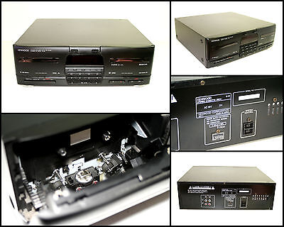 KENWOOD X-45 Stereo Double Cassette Deck