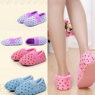 Unisex Winter Warm Anti Skid Slippers Women/Men Anti Slip Indoor Home Shoes AU