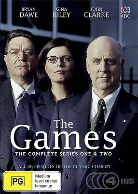 The Games COMPLETE Series - SEASON 1 & 2 - Collection (DVD, 4-Disc Set) NEW