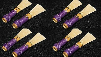 lot 8 bassoon reeds french  handmade by professional musician best quality☘️