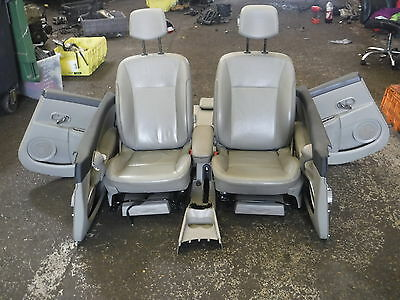 Renault Clio MK3 2005-2012 Interior Seats Beige Leather C Console Chairs 5dr