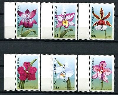 BARBUDA 1999 Orchideen Orchids  2184-89 **