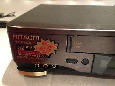 Hitachi Video Recorder Player No REMOTE VHS Player VCR