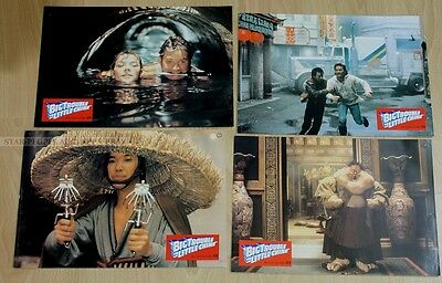 Carpender - Kurt Russell - Big Trouble In Little China *  Lot German Lobby Cards