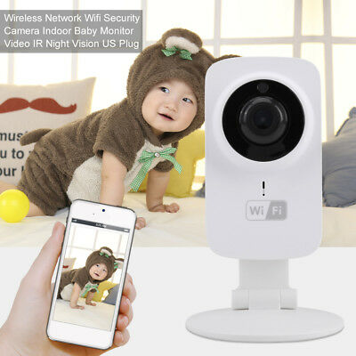 HD 720P Wireless Wifi Baby Monitor Night Vision Video Camera for iPhone Android