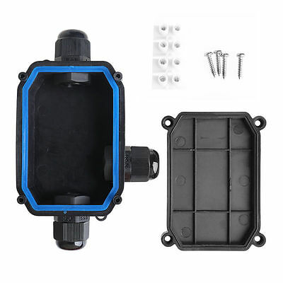 Waterproof Junction Box Cable Switch Wire Connection Enclosure Case Ip66 3 Way