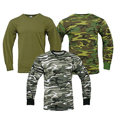 US Style Long Sleeve Tactical Military Army T-Shirt