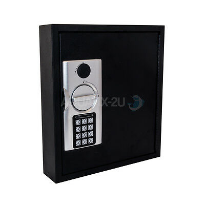 40 Key Electronic Digital Key Safe Cabinet Combination Lock Storage Home Office
