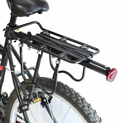 Strong Alloy Bicycle Bike Cycle Rear Pannier Bag/luggage Rack Reflector Seat New