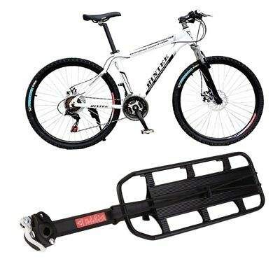 Bicycle Cycling Bike Mountain Rear Seat Post Mount Pannier Luggage Carrier Rack