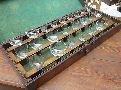 Rare Museum Piece. Antique Grand Harmonicon, Glass Harp, Musical Glasses, C 1850