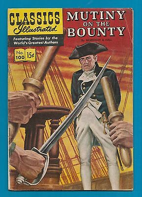 Classics Illustrated Comic Book 1952 Mutiny on the Bounty # 100.   #576