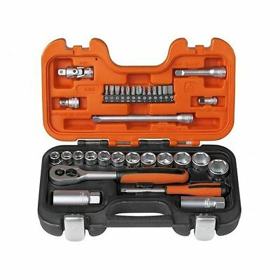 "Bahco 34 Piece, 1/4"" And 3/8"" Drive, Socket Set BAHS330 (CLEARANCE)"