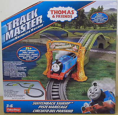 Trackmaster Revolution ~ Switchback Swamp Track Set Pack ~ Thomas & Friends