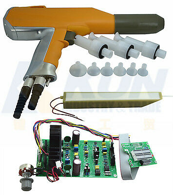 aftermarket replacement shell of manual powder coating spray gun +HV Cascade+PCB