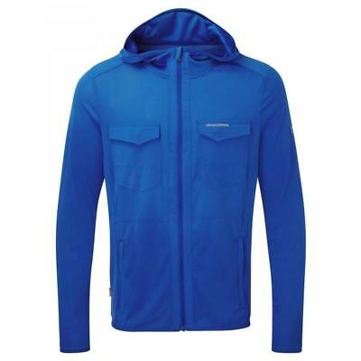 Craghoppers Nosilife Chima Trail Running Lightweight Hoodie Mens Jacket Blue