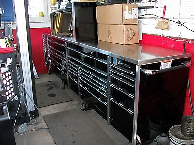 Big Tool Box >> Snap On Mr Big 12 Tool Box Rolling Tool Box With 4 Foot Hutch Reduced