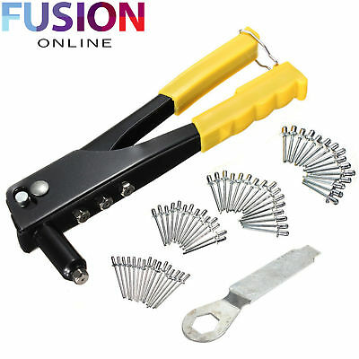 Heavy Duty Compact Rivet Gun Hand Pot Riveter Pop Riveting Tool Pliers