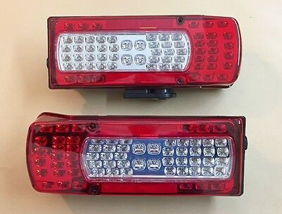 SET 2x LED REAR LAMPS UNIT LIGHTS for VOLVO FH12/FM12/FH16 OEM 20910229 20425732