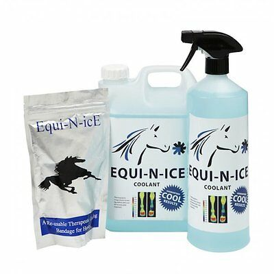 Equi-N-ICE Therapy Compression BANDAGE / Recharge Tendon/Healing/Injury/Cooling