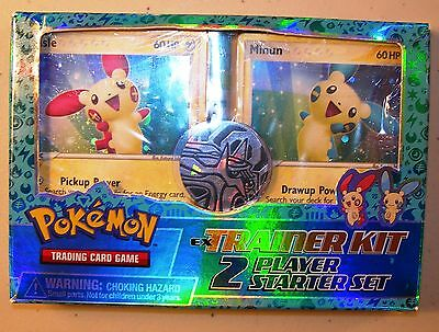 Plusle & Minun EX Trainer Kit Two-Player Starter Set Pokemon