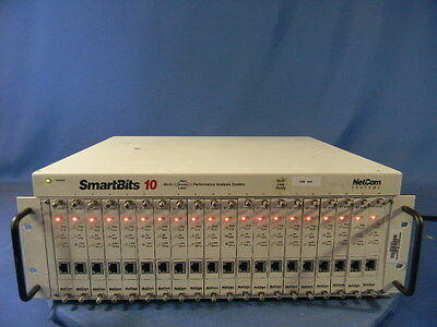 Netcom SMB10 Analyzer With 20 ST-6410-20 Ethernet SmartCards 30 Day Warranty